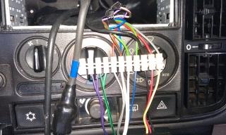 Kabelhärva till radion